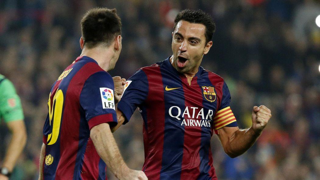 Xavi dan Messi pernah menjadi tulang punggung Barcelona
